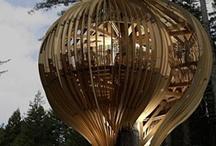 Architetture su alberi / Case, Ristoranti, Agriturismi vivere e passare tempo immersi nella natura più assoluta.