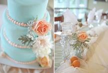 Wedding - Blue & Peach