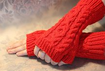 Knitting with Red Yarn Ideas