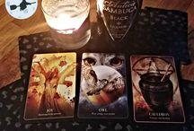 Tipsy Tarot / Divination through tarot paired with wine/spirits by Yolanda Shoshana