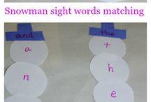 Preschool - Sight Words