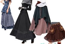 идеи длинная юбка