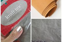Kraft-Tex (Snap Pap) Kreativity / Ideas for using Kraft-Tex (Snap Pap) from CT Publishing / by JulieCC