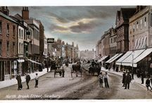 Newbury Postcards in Colour / Old hand coloured postcards of Newbury and the surrounding villages and towns