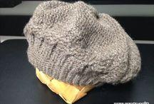 かぎ針編み 帽子
