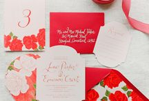 Red Weddings / Red Theme Weddings Inspirations
