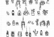 Bullit journal & doodles