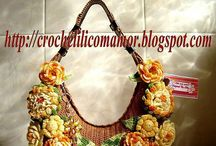 Crochet Bag / Crochet bag, knitting bag
