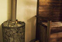 Sauna, kylpyhuone, vessa, kodinhoitohuone
