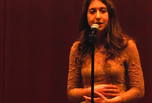 Poetry / I'm seeing a lot of great stories on video poetry these days. Upworthy is a favourite site of mine. Only for some reason, not all will upload. Check out Upworthy 'he's speaking she's playing' poetry video.