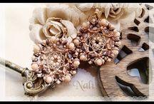 Nalì Jewels / Bijoux, jewels, soutache, sutasz, beads, perline, tutorial