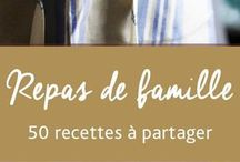 50 RECETTES  EN FAMILLE