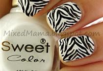 Nail design / I love pretty nails - don't you?