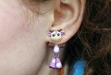 Cercei 3D Animals Fake Piercing