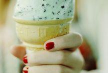 Is❄️ / Mint chokolade is Mmm... Og helt almindeligt is