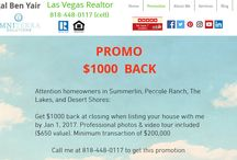 PROMOTION - Las Vegas Realtor / Hi, my name is Igal Ben Yair. I am a Las Vegas Realtor with Omniterra Solutions. I have a 5 star rating on Yelp & Facebook.  I will be giving you simplified answers to your real estate questions, tips & guides.  If you want a real estate question answered or want a tip or guide, please write a comment on one of my blog posts or  YouTube videos.  www.ivegasrealtor.com 818-448-0117