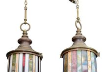 stained glass - lights