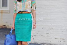 My Style- Work Summer Clothes / Clothes / by Kim Goodman