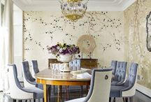 Dining room / Inspiration for a classic dining room / by Nancy Breslin