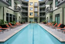 AMLI 5350 / Set in Brentwood, apartments in AMLI 5350 maintain a city feel without the chaos of living downtown. Come visit to try out this experience along with our other fantastic amenities, such as a 25-Meter lap pool, which makes us one of the best luxury apartments in Austin!