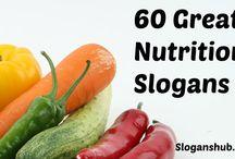 Nutrition slogans