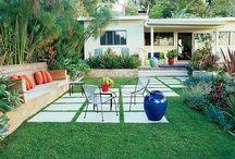 1960/70's garden inspiration