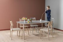 FLEX / Inredning. Möbler. Matbord. Stolar. Decoration. Furniture. Dining tables. Chairs.