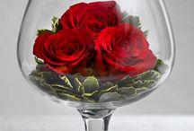Květy v číši...
