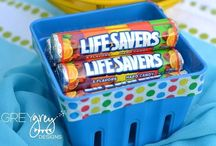 Pool Party Party Bags