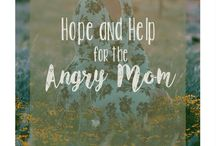 Tips for Angry Moms / Feeling like an angry mom? Looking for help, ideas, stories and tips to overcome your anger? Motherhood is hard and its easy to become a yeller but there are ways to combat anger. And what to do after yelling.