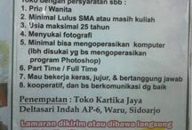 FIND JOB SIDOARJO / Find Your Job Here