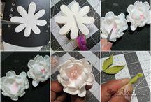 Foamiran Flower Tutorials