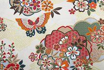 KIMONO Japanese cloth