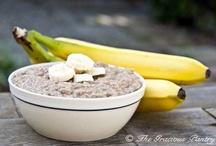 Recipes: Breakfast - Oatmeal or Oatmeal Breakfast Cookies / by Allison Mayes