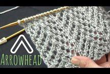 strikke teknikker