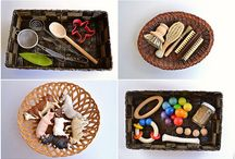 montessori treasure baskets