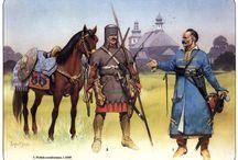Wojsko Rzeczpospolitej w XVI - XVII w oraz jego alianci i przeciwnicy na południu i wschodzie / W stepie szerokim ( i nie tylko )
