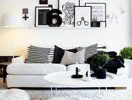 Musta-valkoinen koti