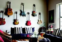 Guitar/living room / by Erin Johnson