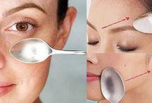 Kosmetika-masáž obličeje / speciální technika masáže obličeje lžičkou