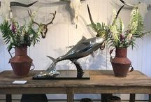 Interior Design Sculpture / Bronze sculptures made by Hamish Mackie, all signed, dated and numbered editions
