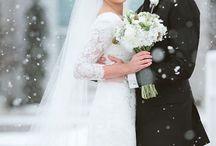 Stunning Winter Wedding Photos