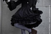 Gloomth's Dark Dream / Model: Vamp Photographer: Russel Hall Stylist/MUA: Taeden/Gloomth  www.gloomth.com  Tights by Ophanim ophanim.storenvy.com/