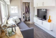 Aurora Tiny Home / A modern, unique, expandable tiny home created with YOU in mind!