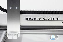 CNC Fräse für Profis und Modellbau - Die High-Z / Unser Bestseller mit fast 7000 CNC Maschinen weltweit. Die CNC Fräse des Types High-Z - Top Qualität, kleiner Preis