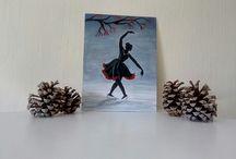 Pallavi's acrylics painting