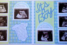 baby album layouts