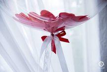 Decoração Mini-Weeding / Uma das tendências do mercado são decorações mais intimistas que cabem perfeitamente em Mini Weeding onde é feito uma reunião para convidados mais próximos e familiares. A aplicação de balões nesses eventos cabem super bem.
