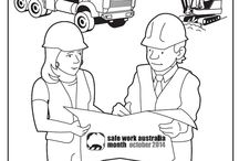 Safe Work Month Australia / October is Safe Work Month Australia.  It's a time to stop, think and work together to make your workplace safer.