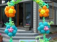 Balloon Arches by Up, Up & Away! / Balloon Arches created by Up, Up & Away!